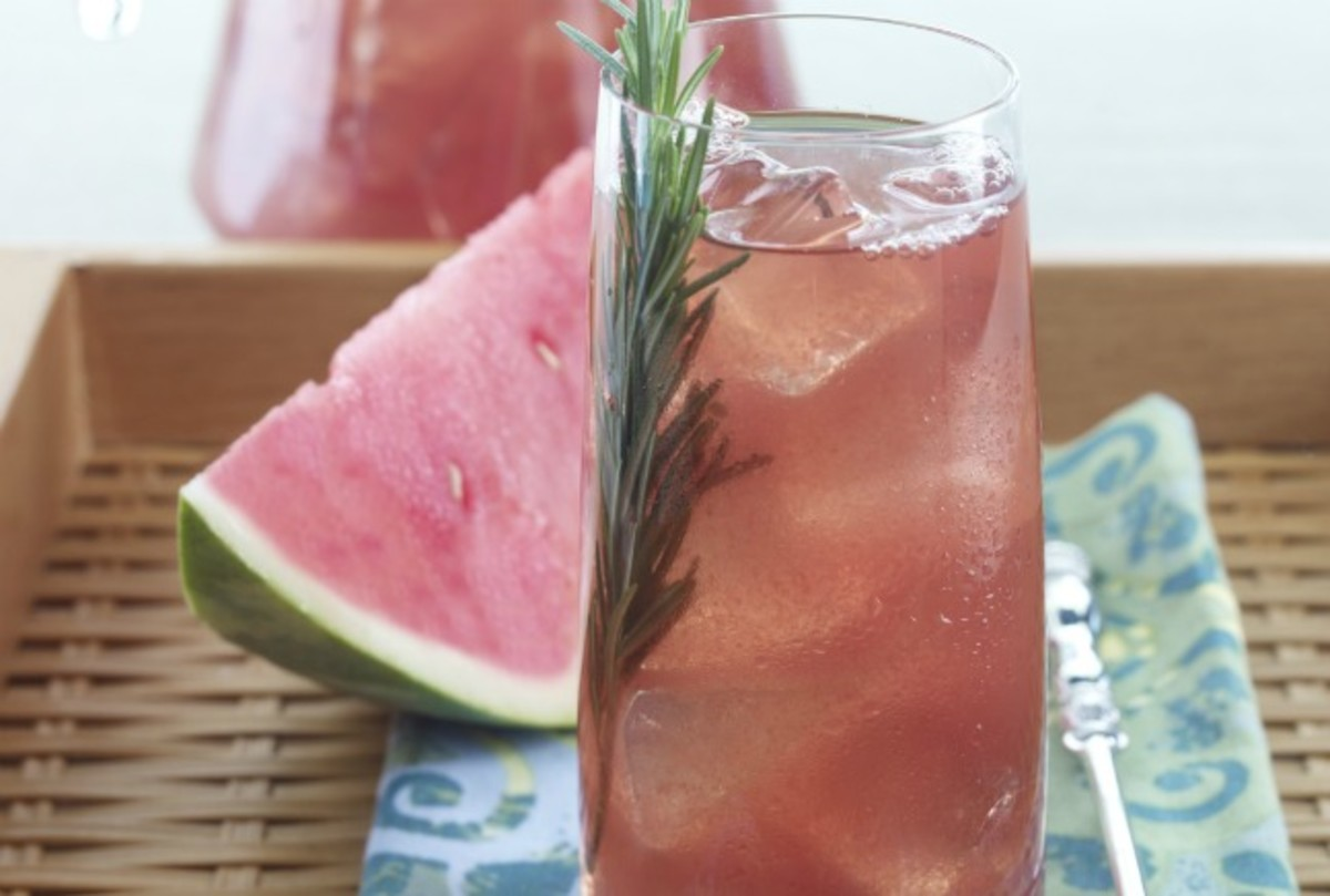 Watermelon Pomegranate Green Tea