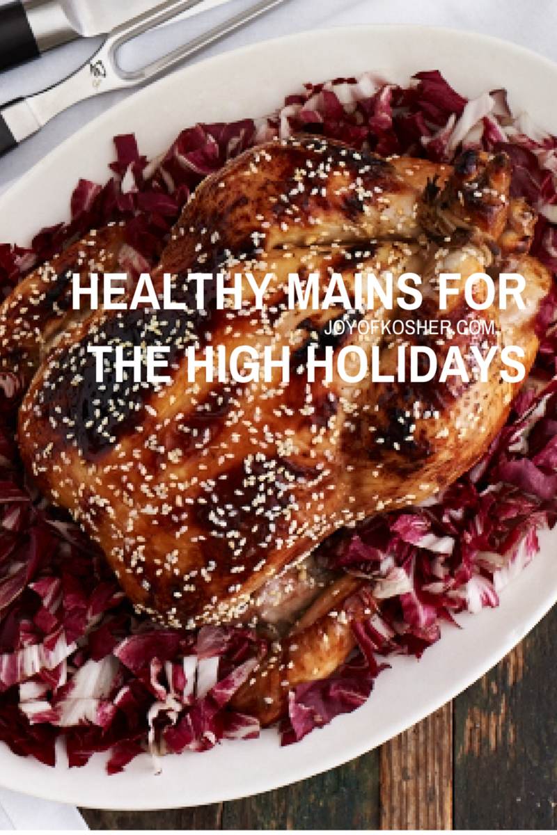 Pinterest Healthy Mains for the High Holidays