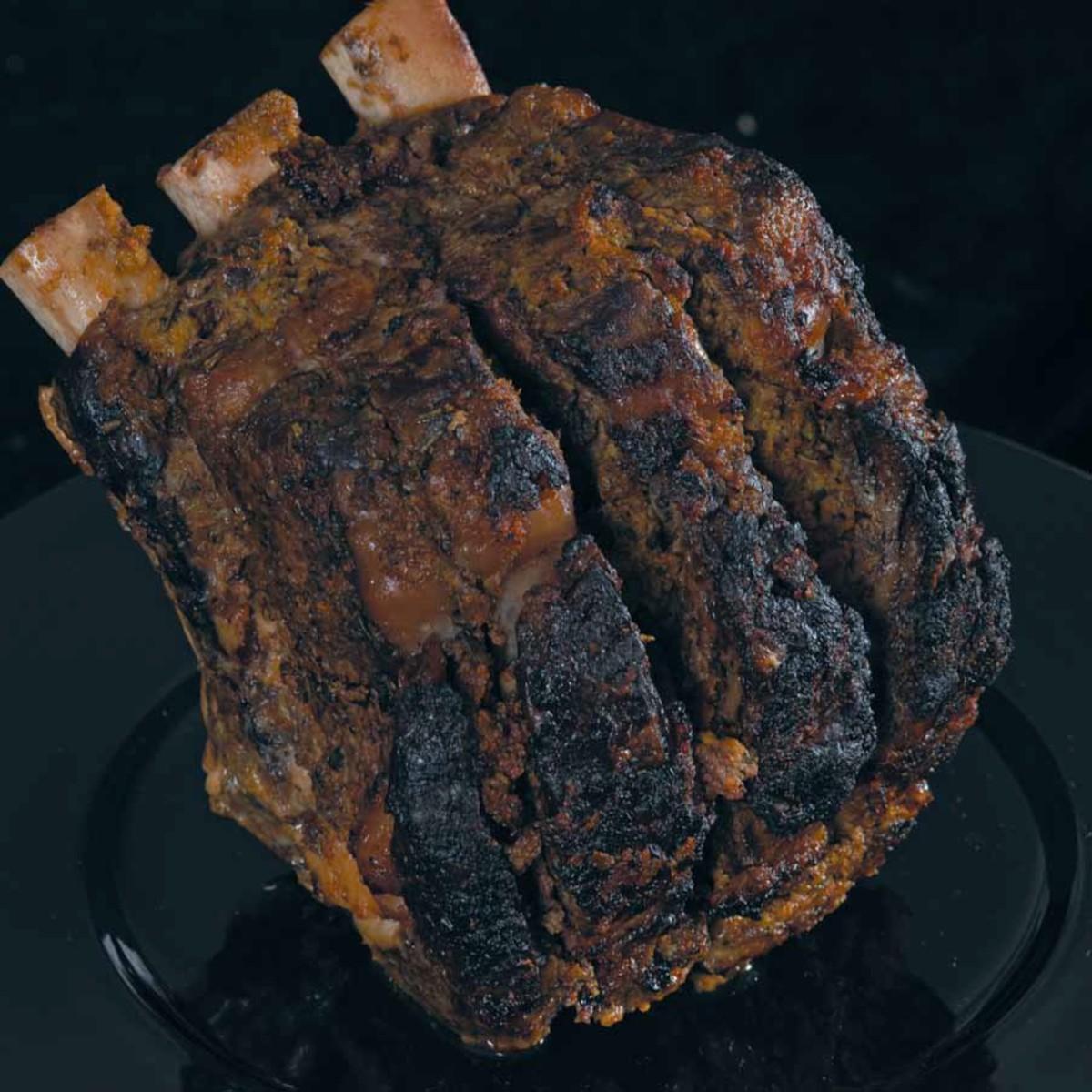 Herb Crusted Rib Roast