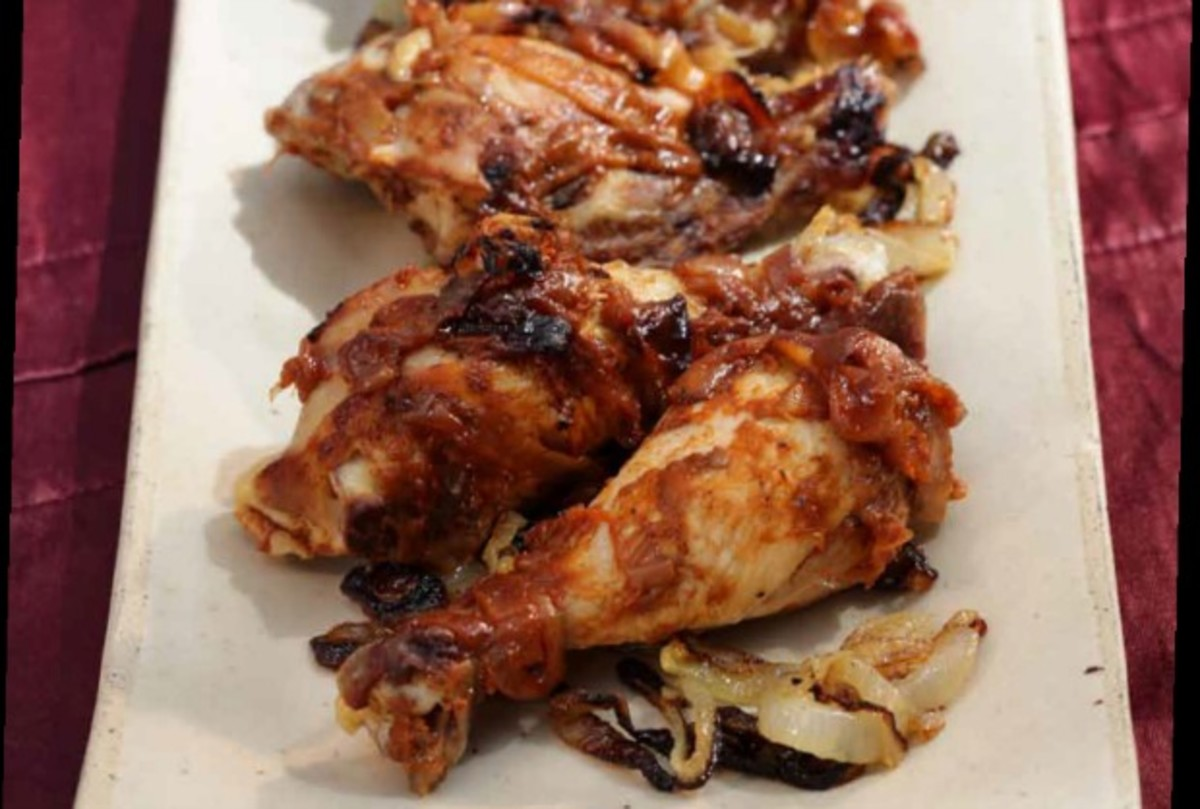 pomegranate molasses chicken