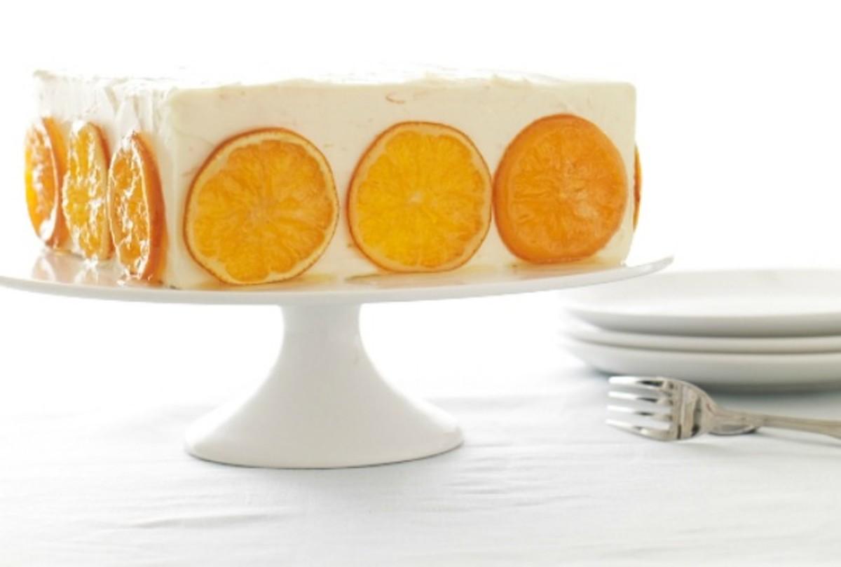 orange honey cake