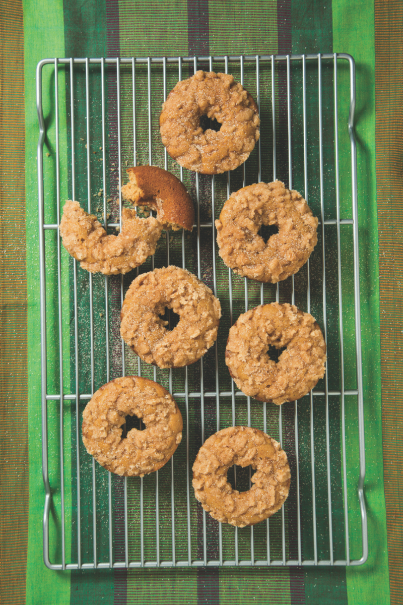 Honey Cake Doughnuts are the perfect Rosh Hashanah treat