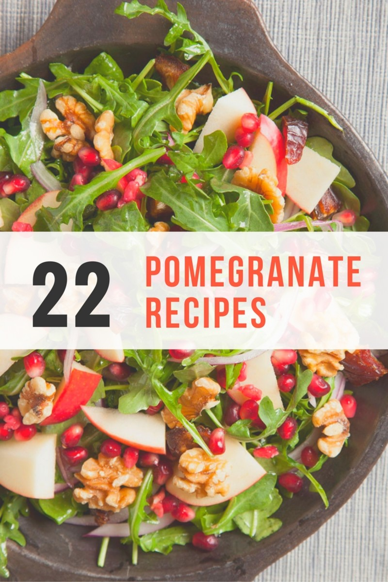 22 Pomegranate Recipes