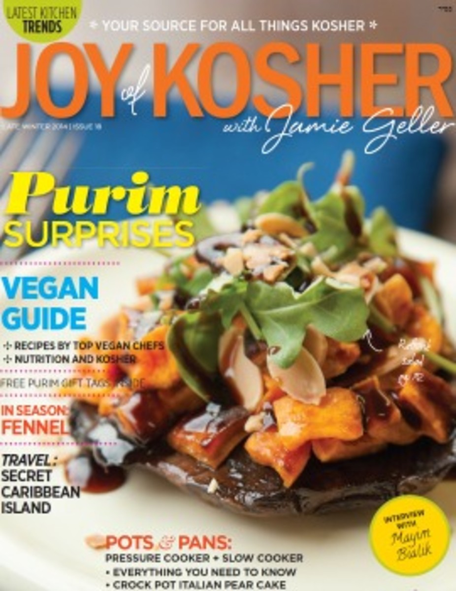 Joy of Kosher Late Winter Magazine