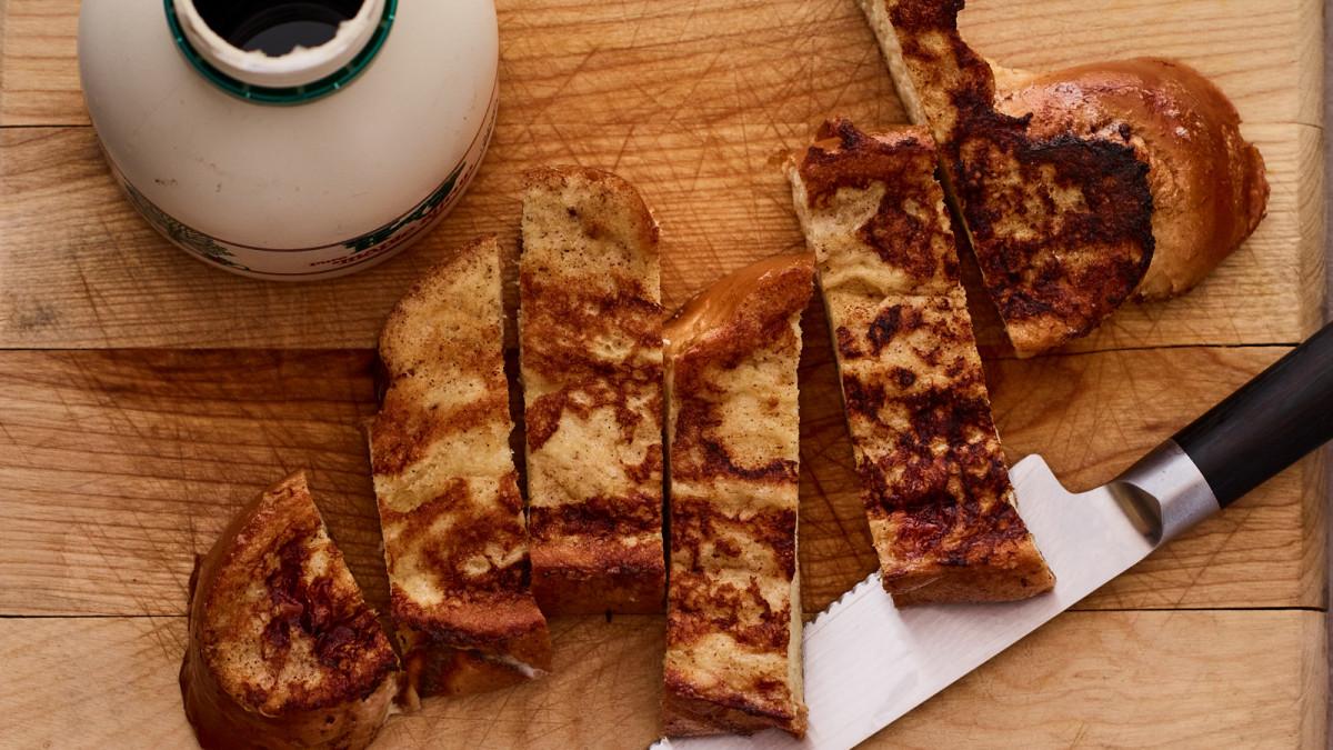 Kids Bento Box Challah French Toast