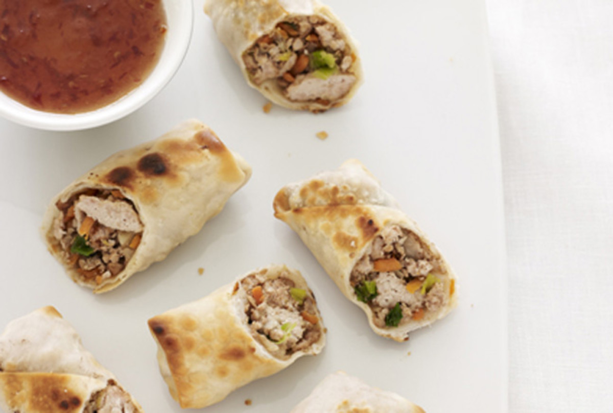 Five Spice Turkey Eggrolls