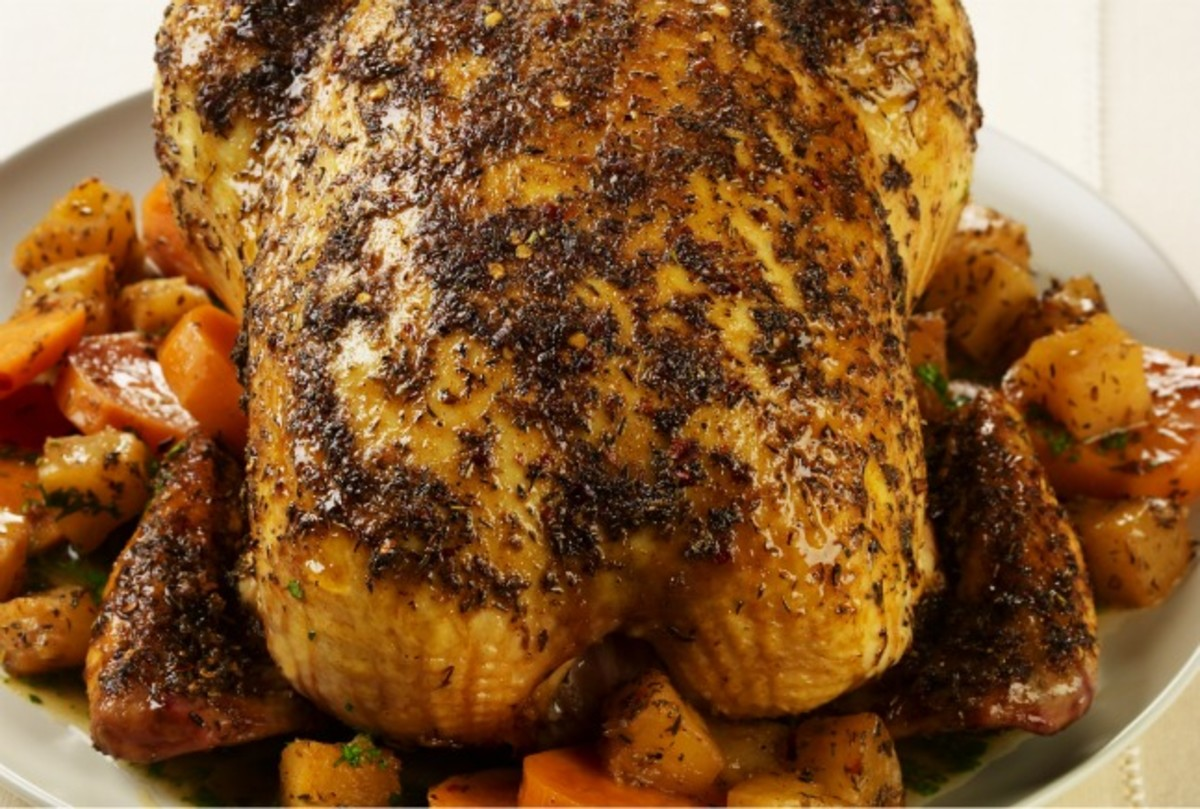 Caribbean Roast Chicken With Pineapple And Sweet Potatoes Jamie Geller,Black White And Brown Living Room Ideas