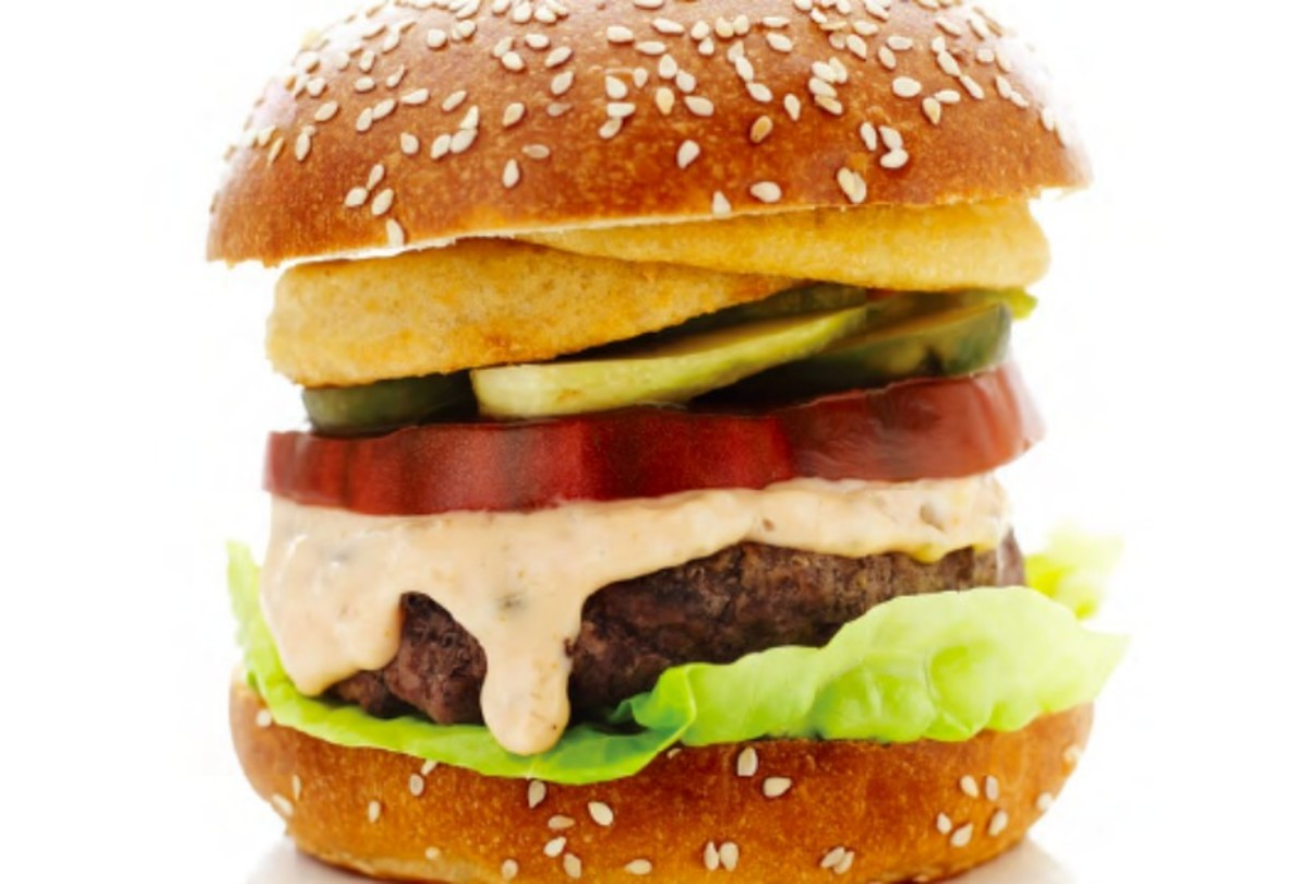 Loaded Burger with Special Sauce