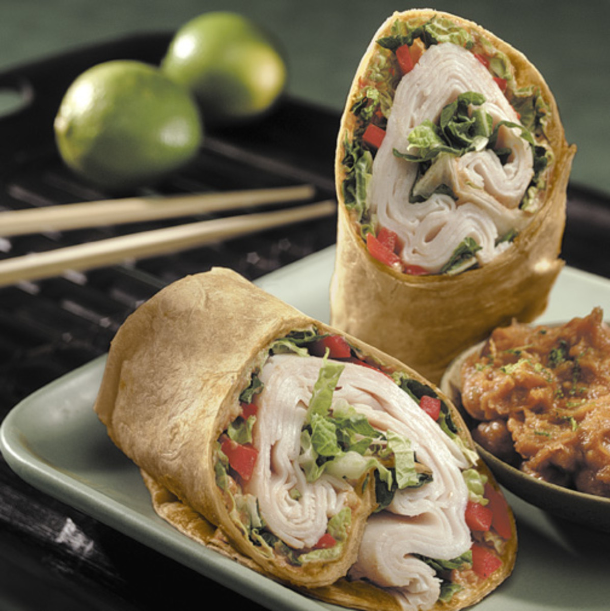 Thai Turkey Roll-Up