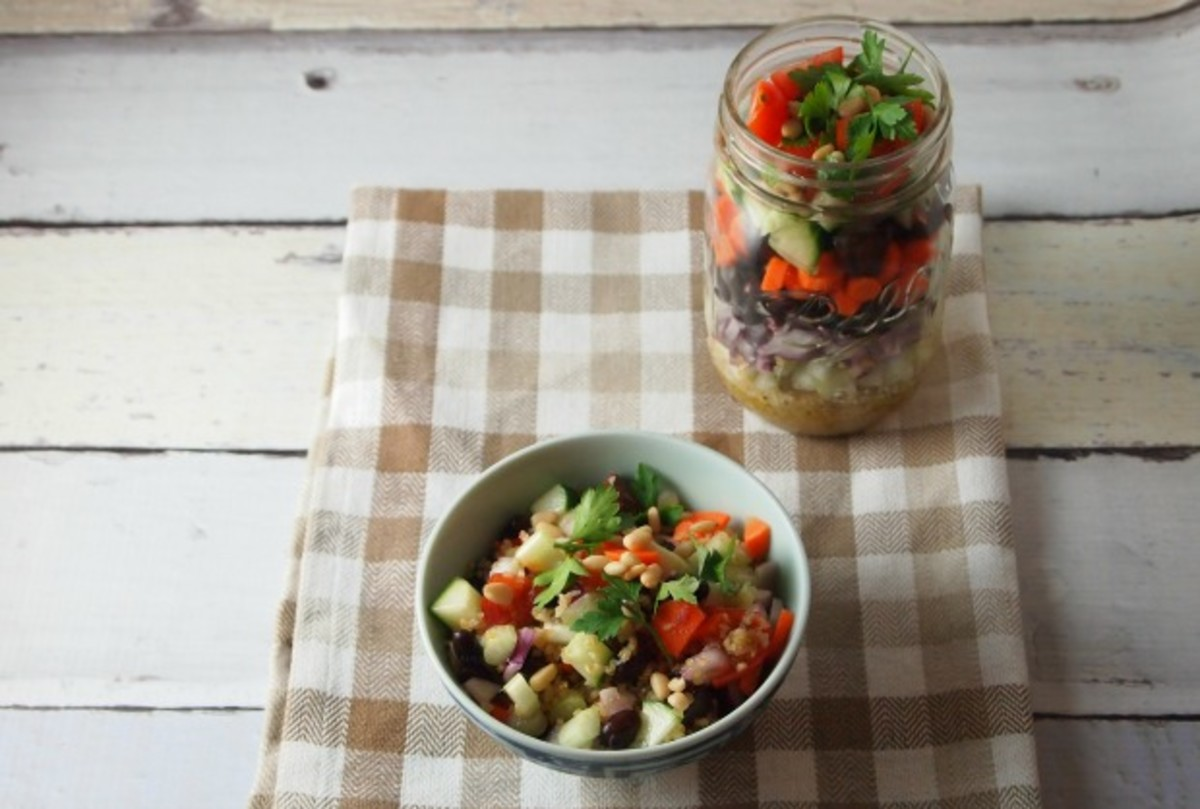 ten commandment layer salad