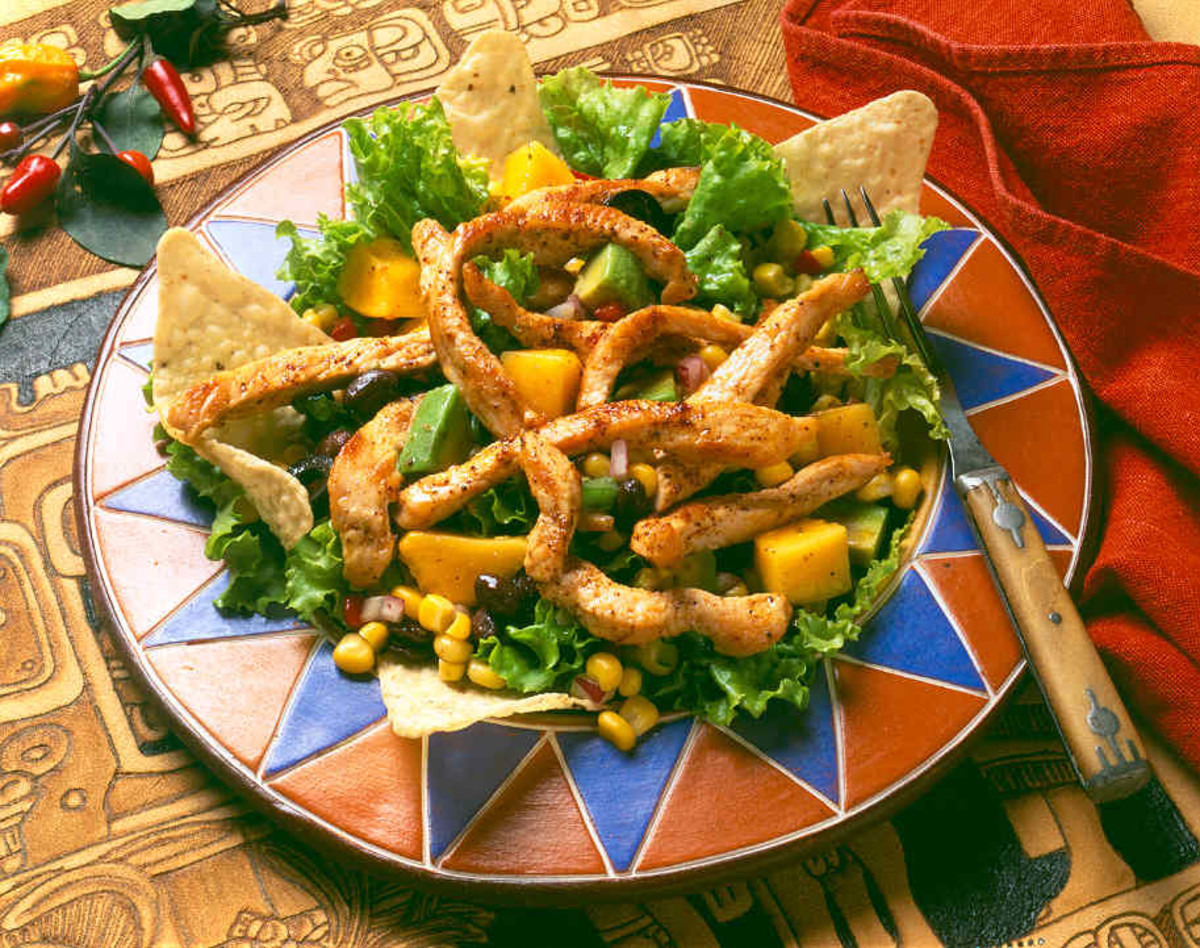 Mayan Turkey Salad