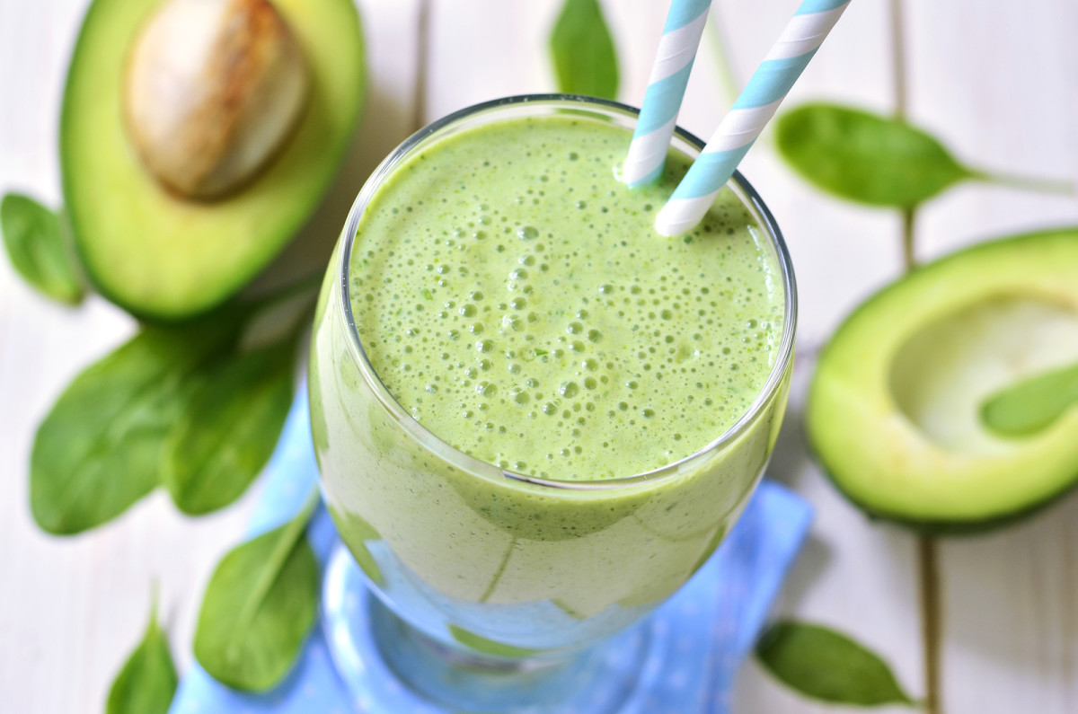 Avocado Pineapple Milkshake