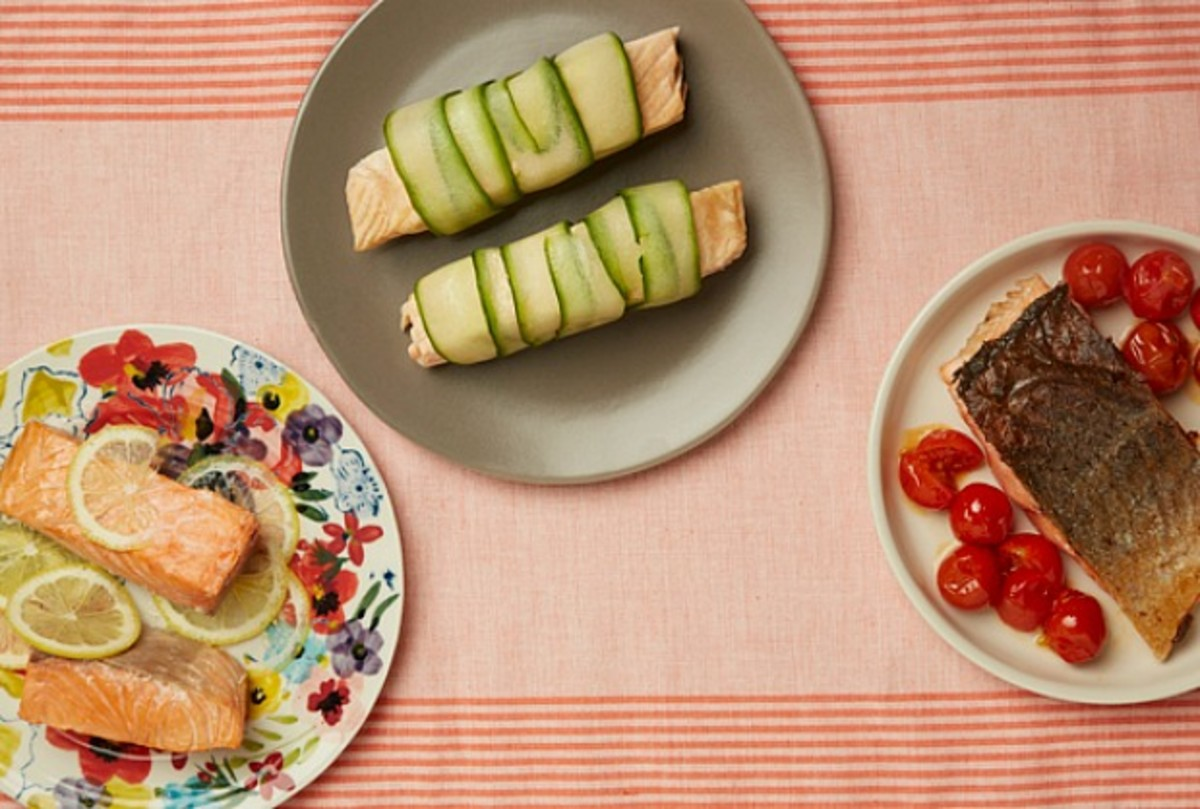 3 Salmon Recipes
