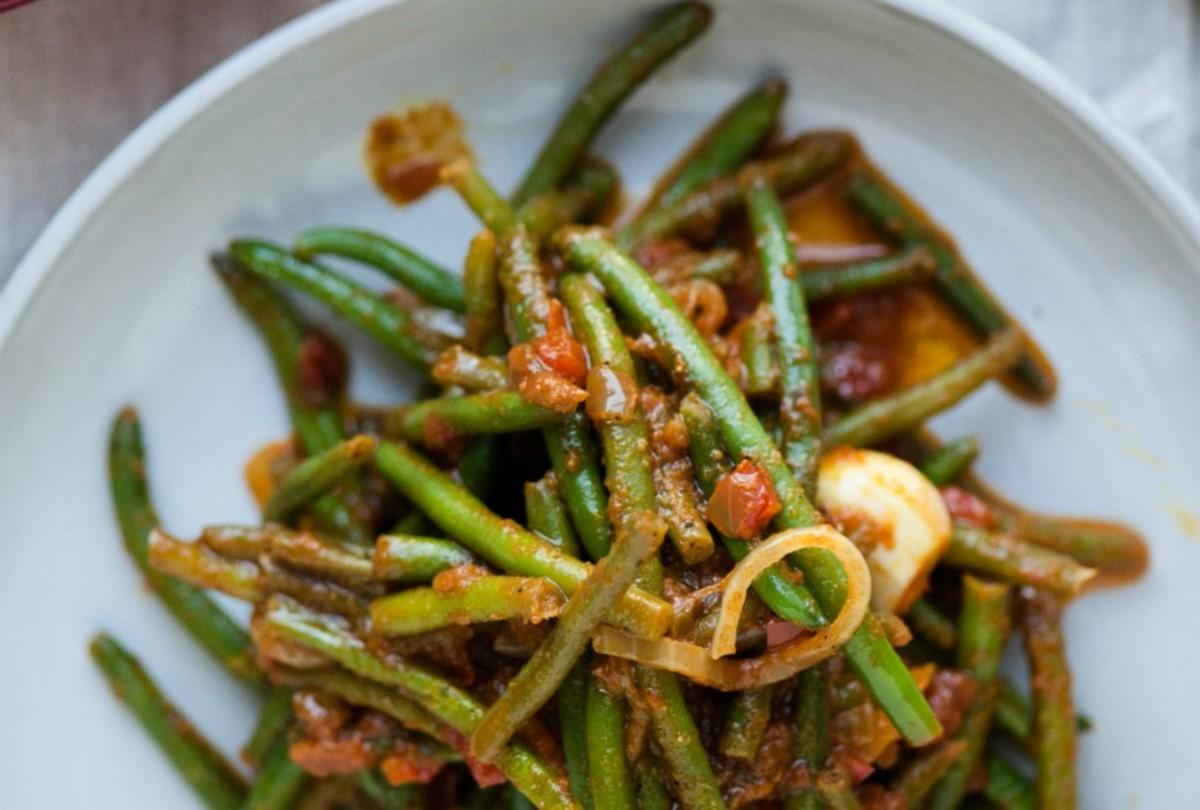 Matbucha Green Beans2