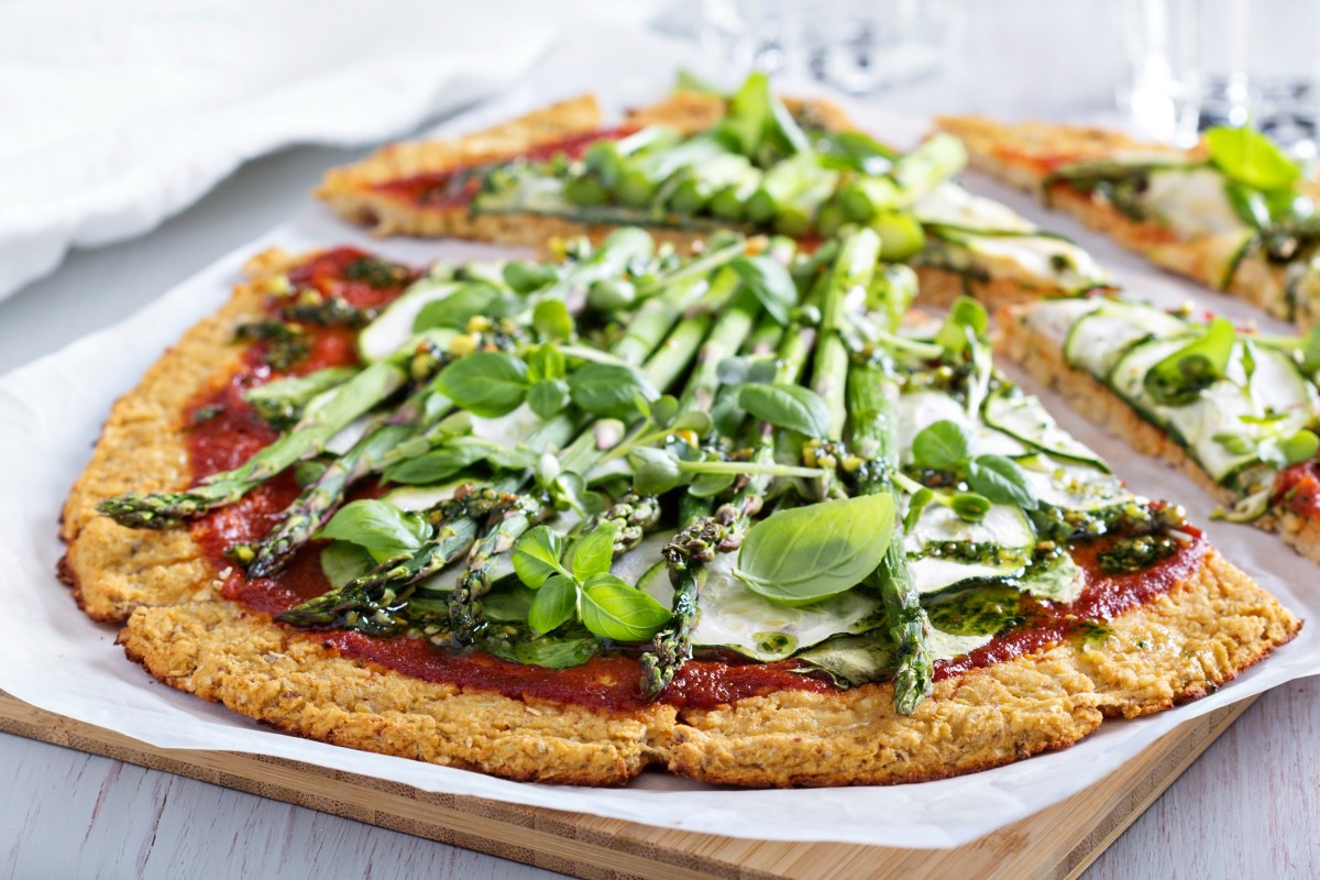 Quinoa Crust Pizza