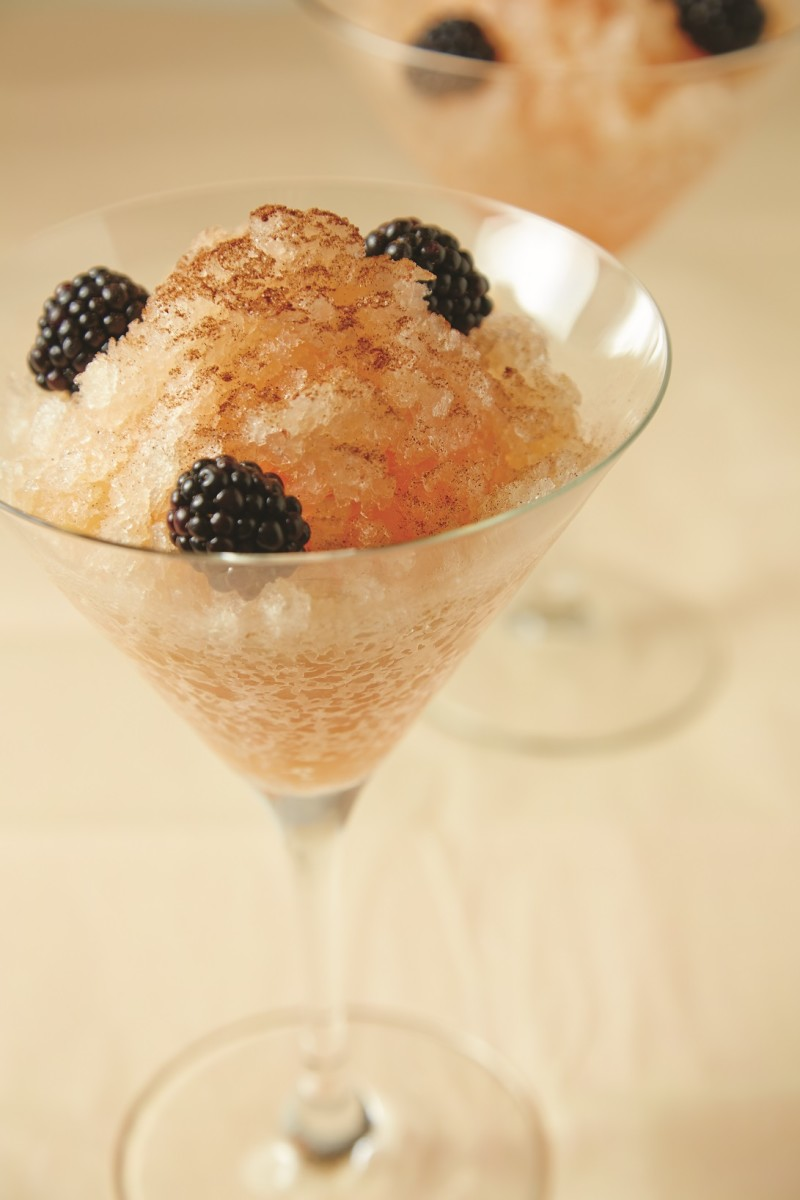grapefruit granita