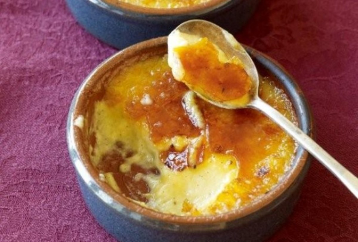 Non Dairy Creme Brulee