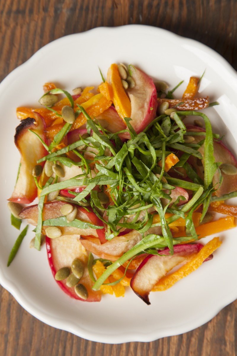Roasted Apple and Butternut Salad