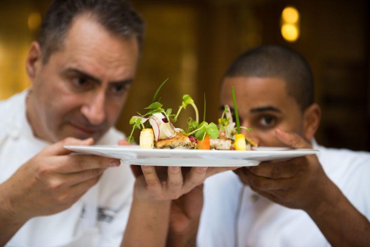 Executive Chef Itzik Barak, Taste Of Waldorf 2016