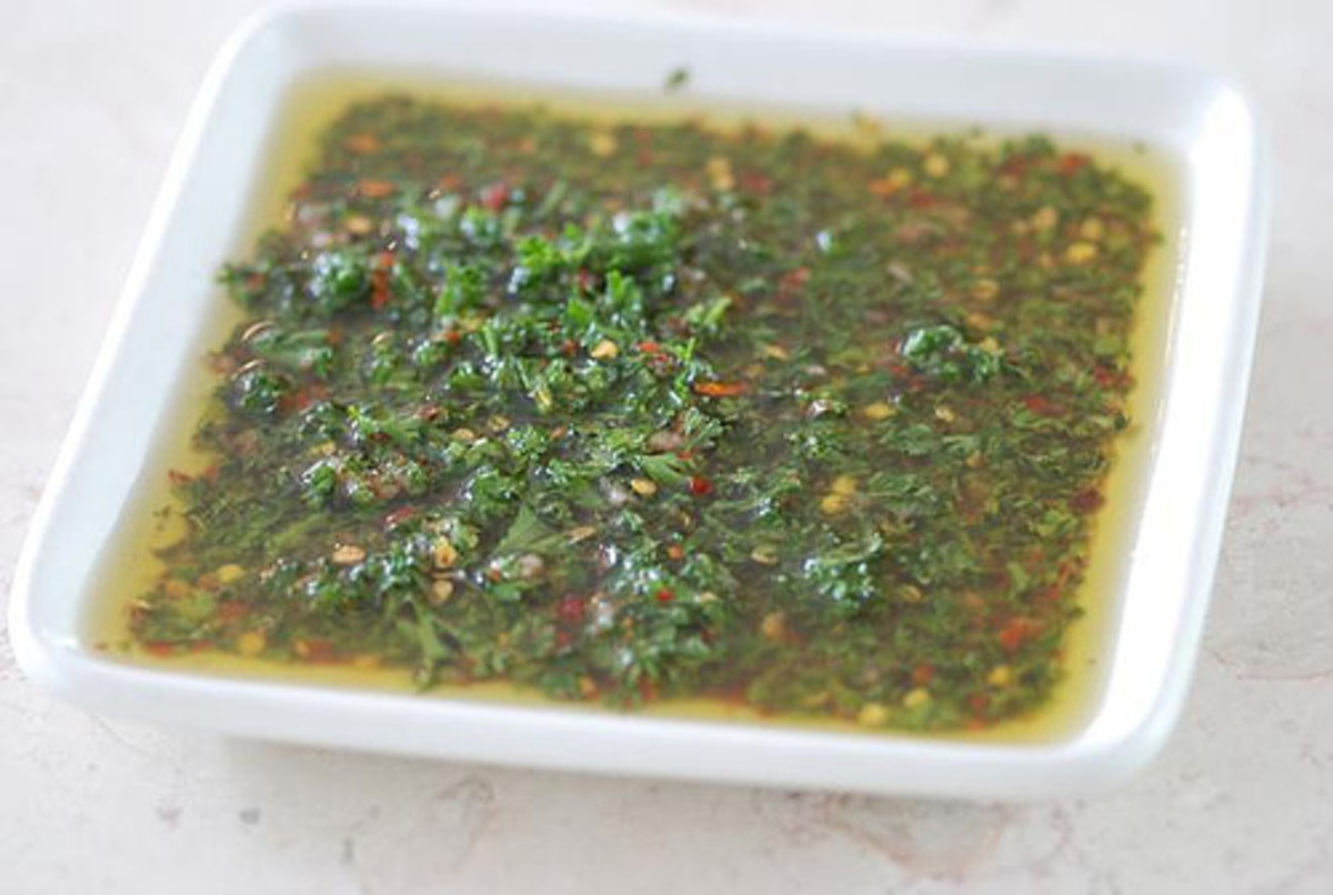 Argentine Chimichurri Marinade and Sauce