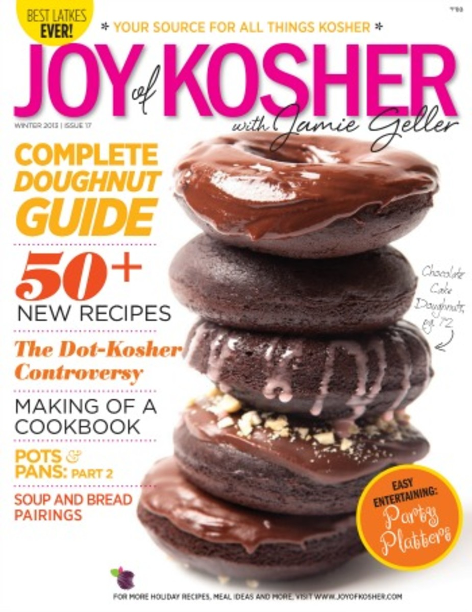 Joy of Kosher Hanukkah Magazine