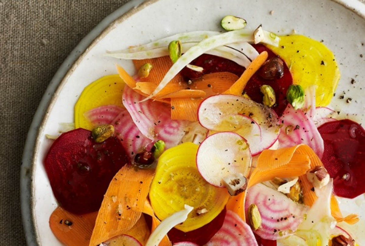 raw root vegetables salad joyofkosher cookbook