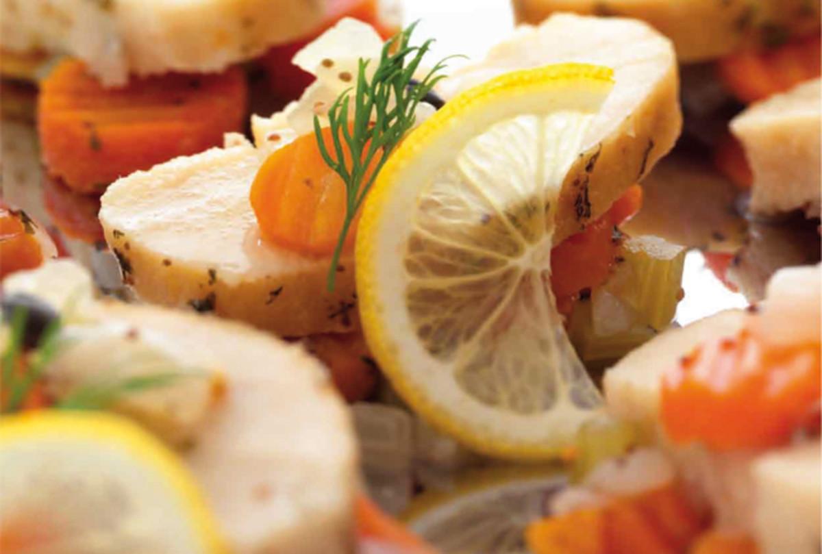 spiced gefilte fish