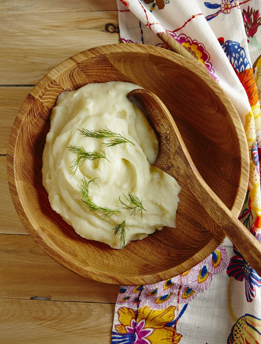 Kohlrabi & Potato Puree