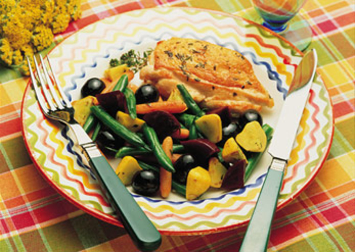 Technicolor Vegetable Sauté