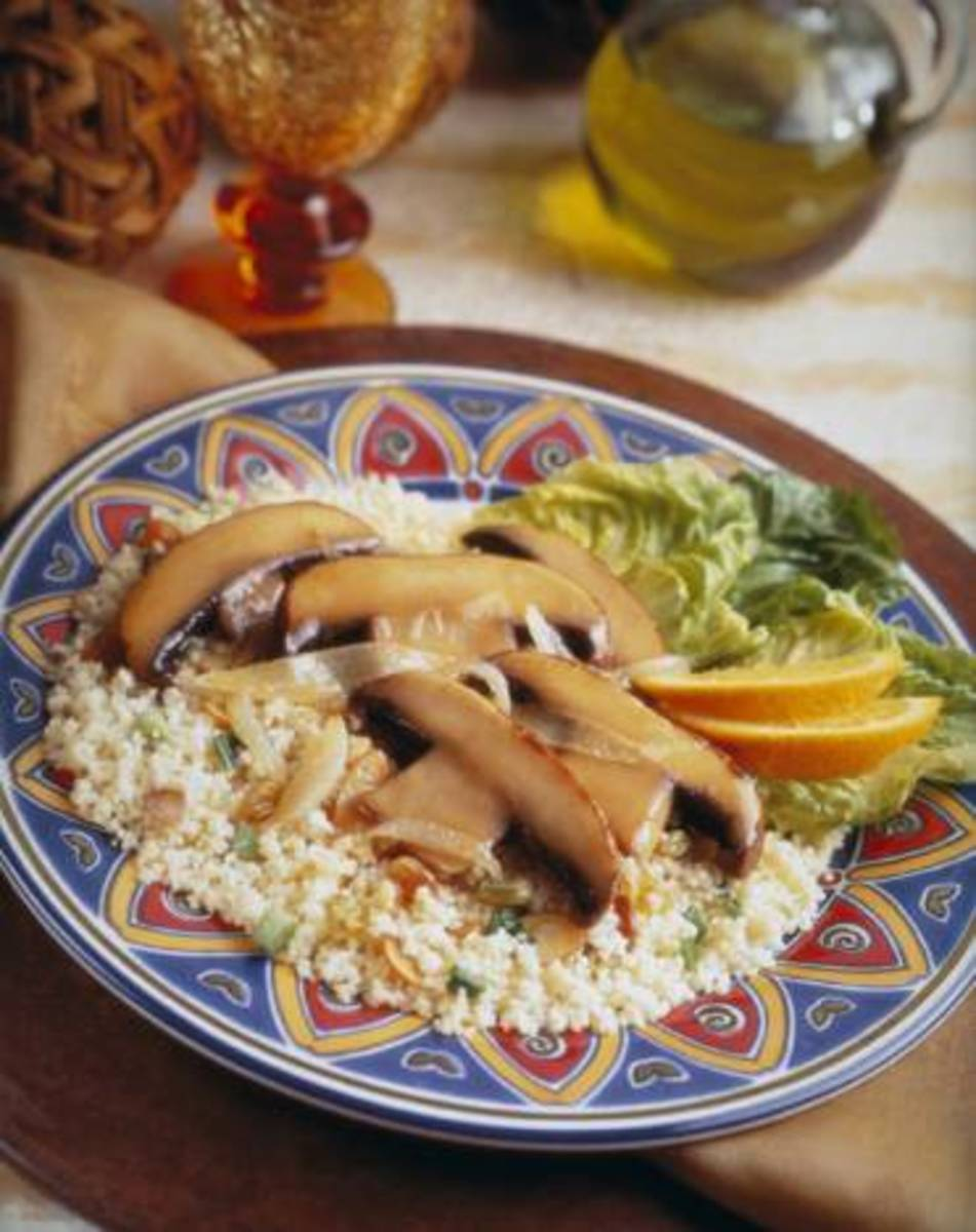 Spicy Portabella Couscous
