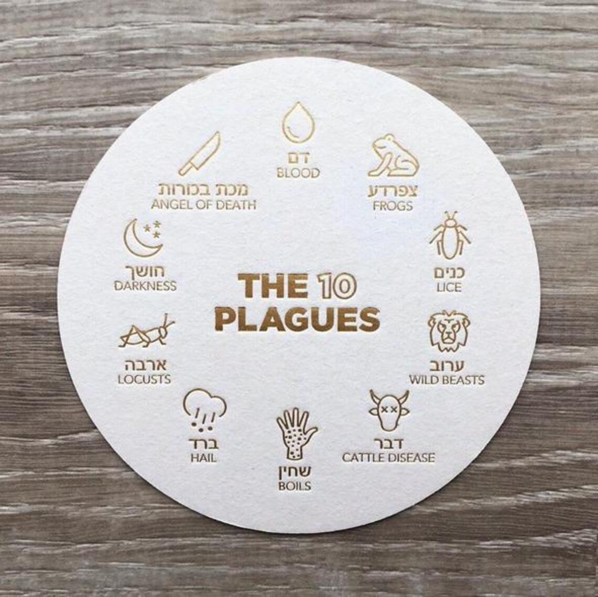 10 Plagues Coasters
