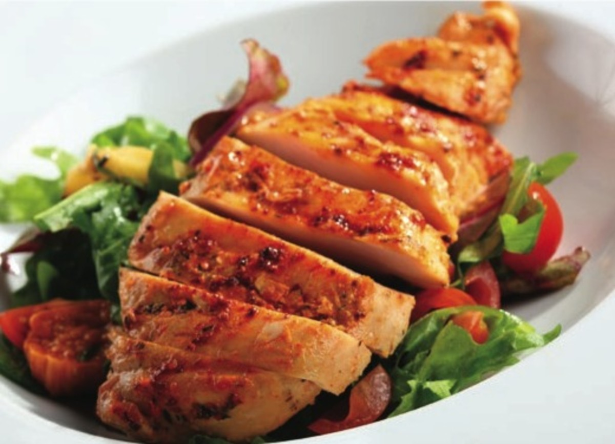 Balsamic Roasted Chicken Breast Pg. 16