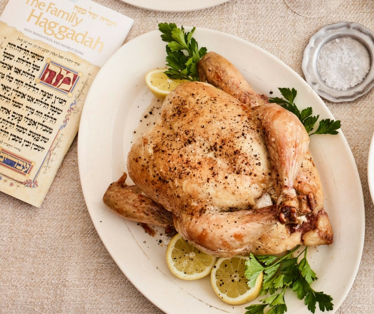 4-Ingredient Roasted Chicken