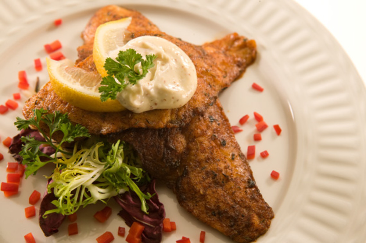 Cumin Crusted Fish