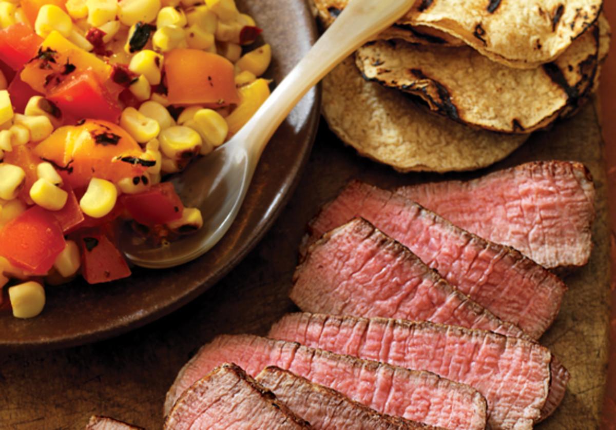 grilled southwestern steak