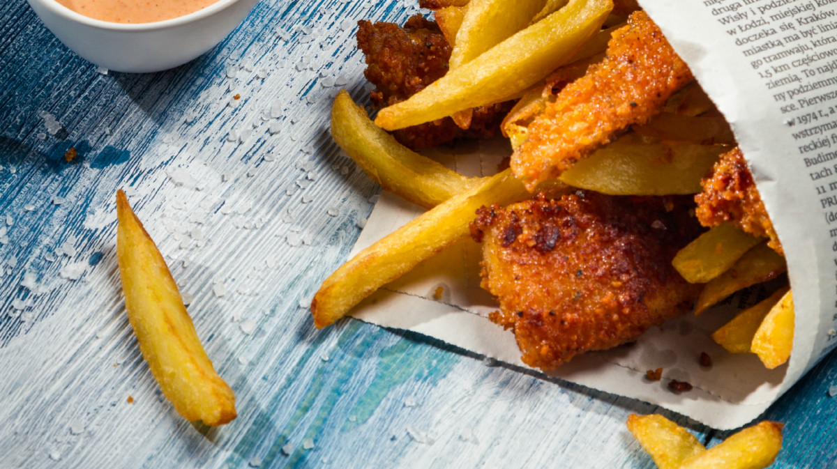 Beer Battered Cod with Panko