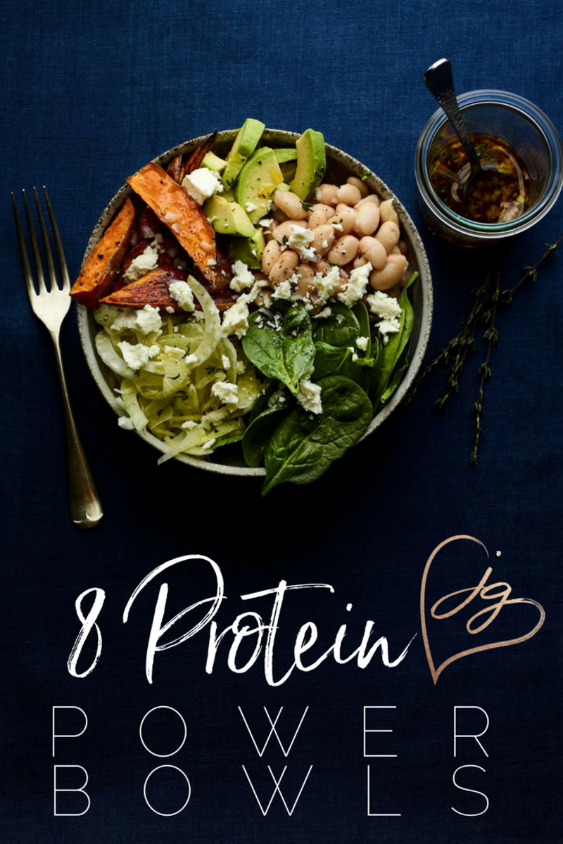8 Protein bowls pin