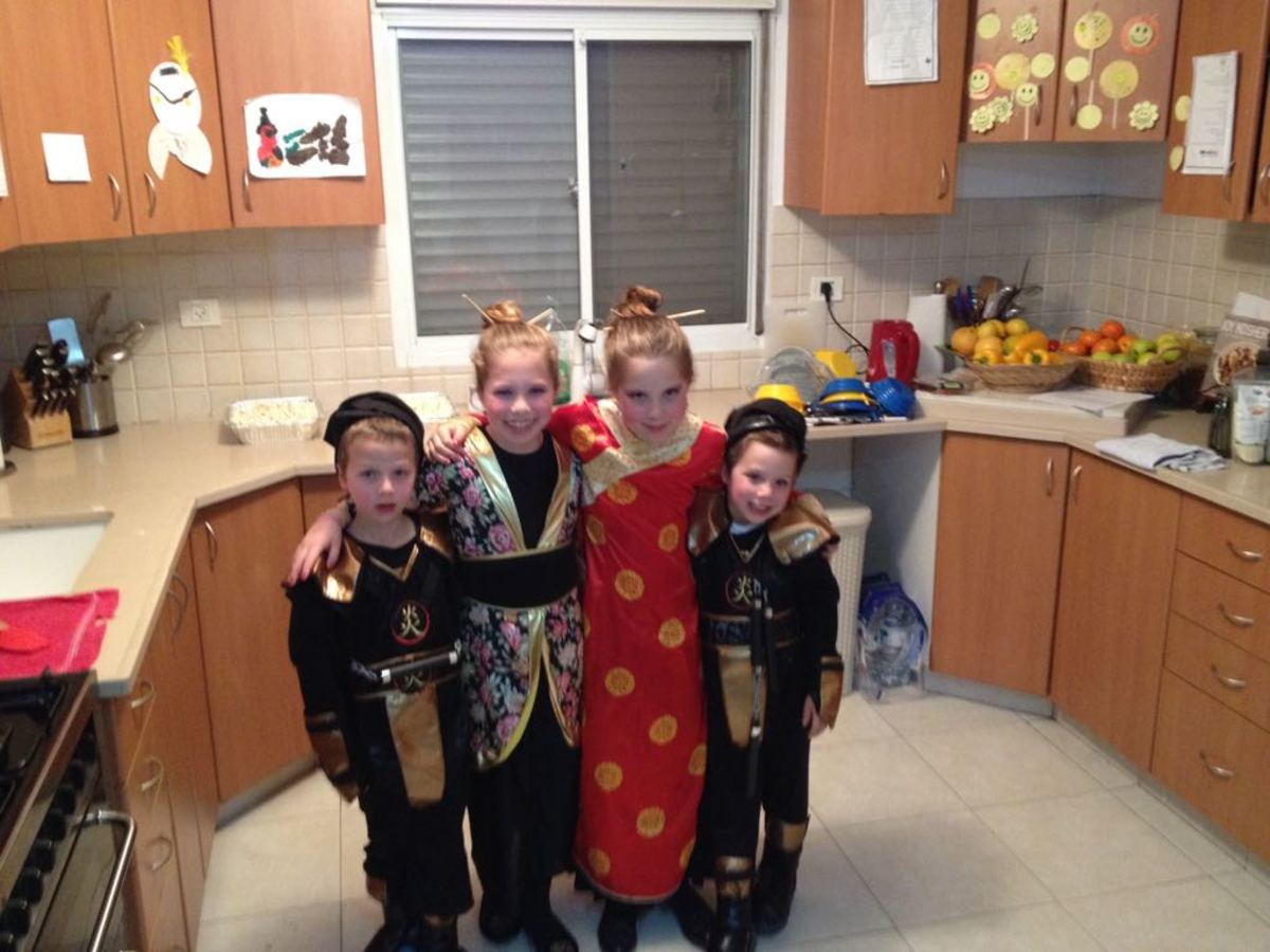 4 Kids Asian Costume