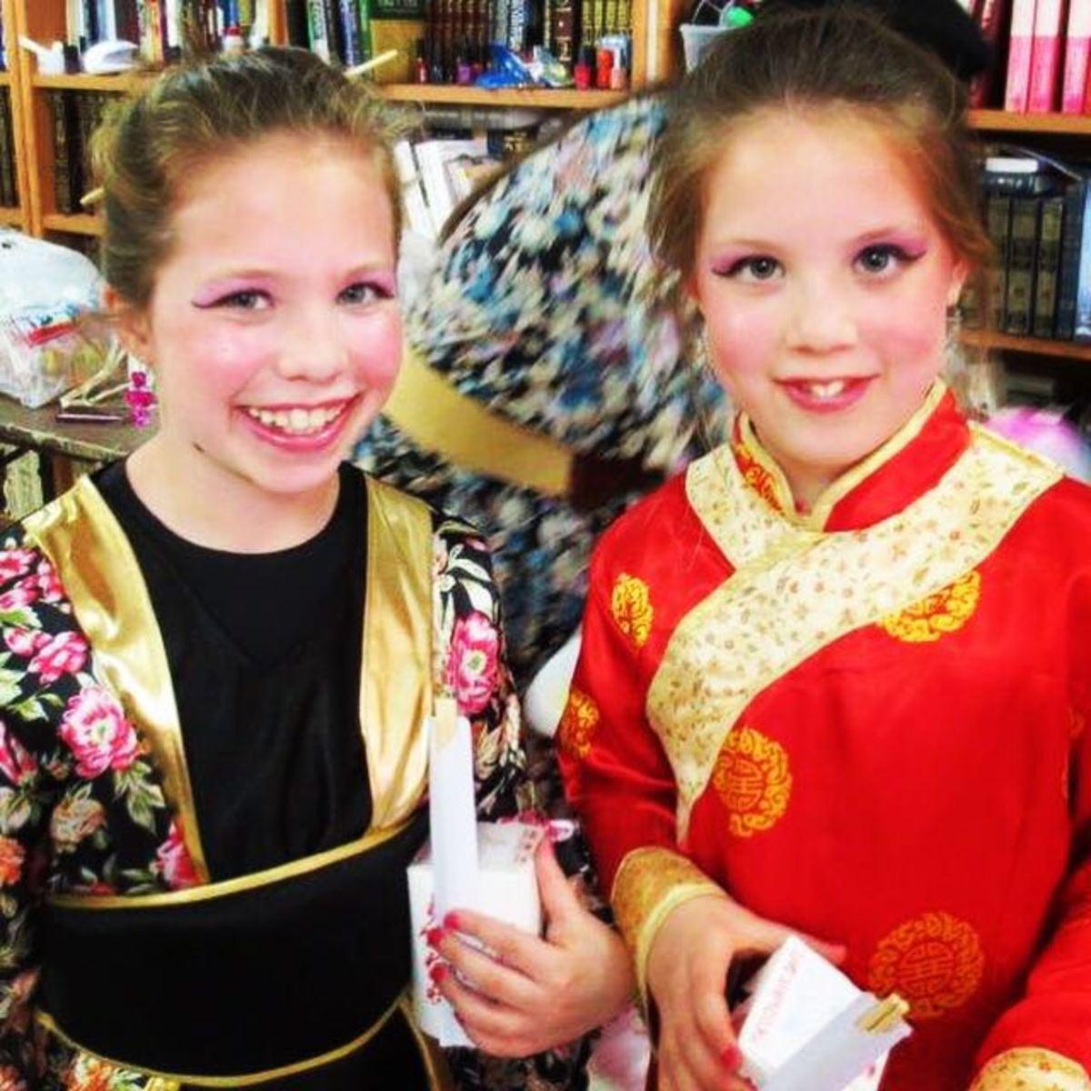 OLDER GIRLS ASIAN COSTUME