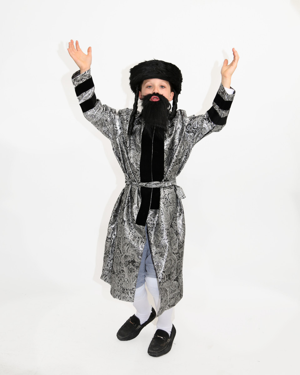 Avraham Yitzchak Dressed as a Chassid