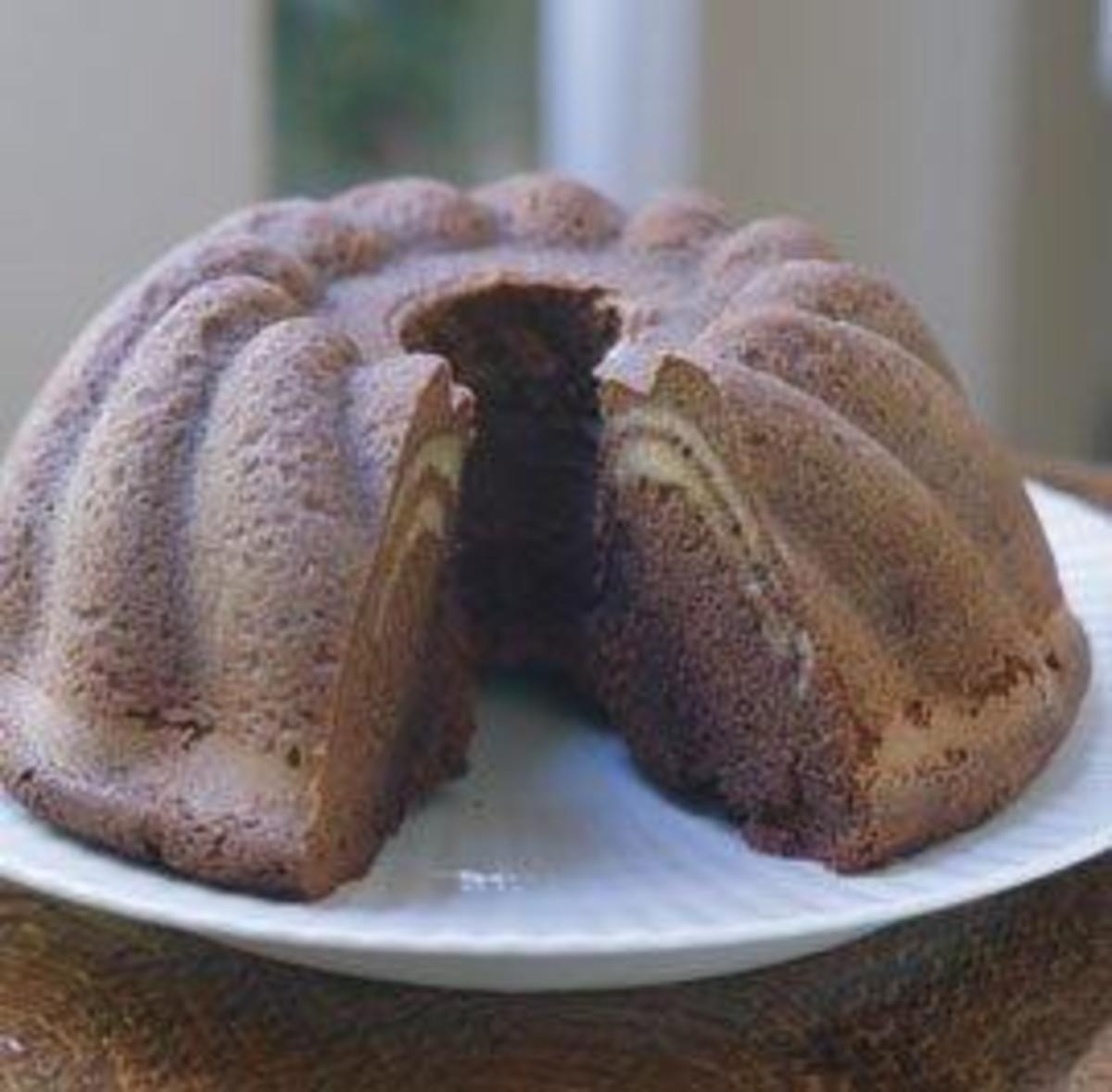 chocolate almond ripple cake