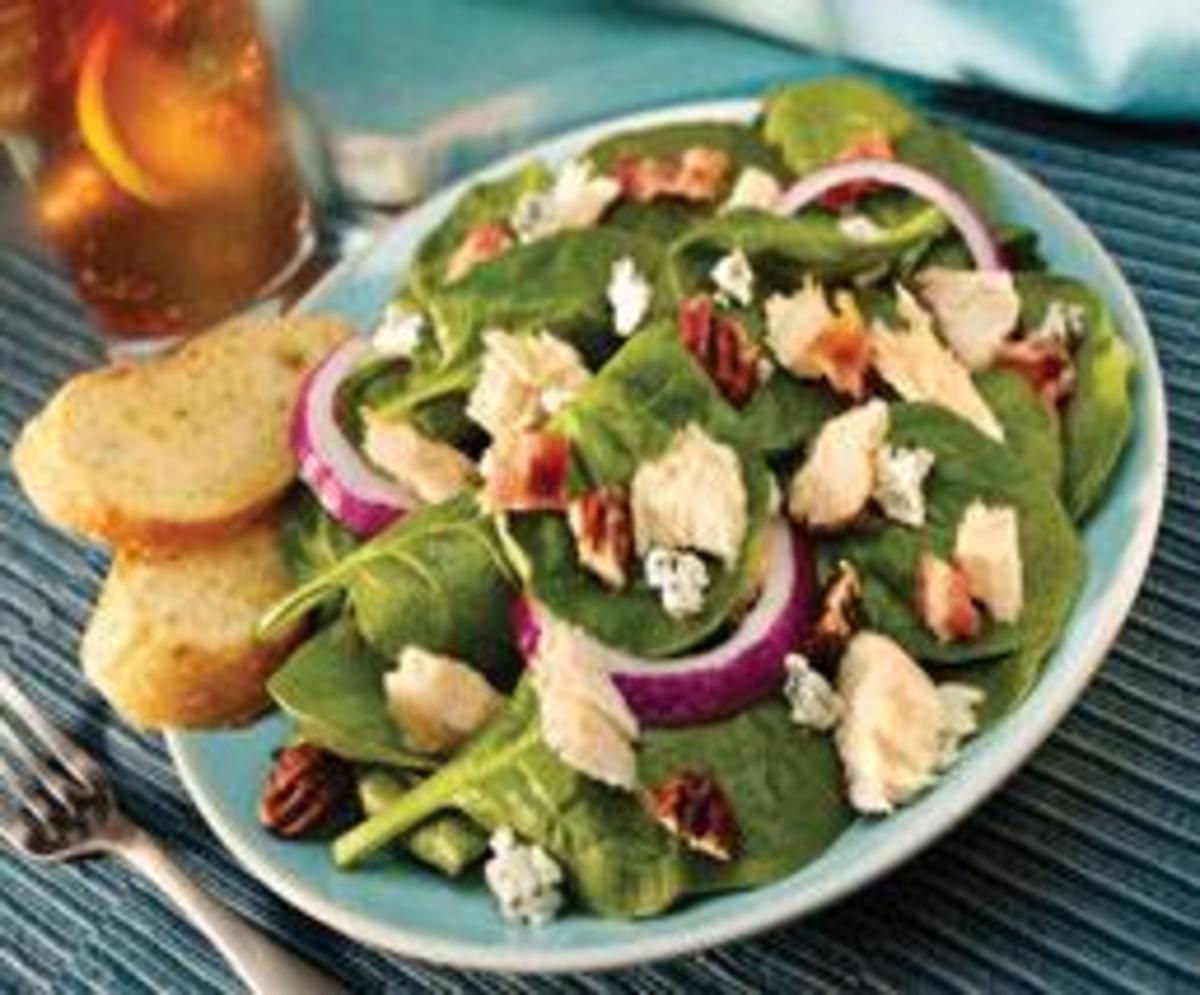 Tuna Spinach Salad