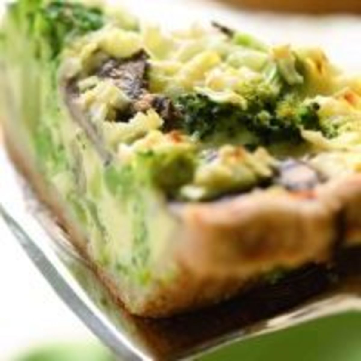 Broccoli and Mushroom Pie