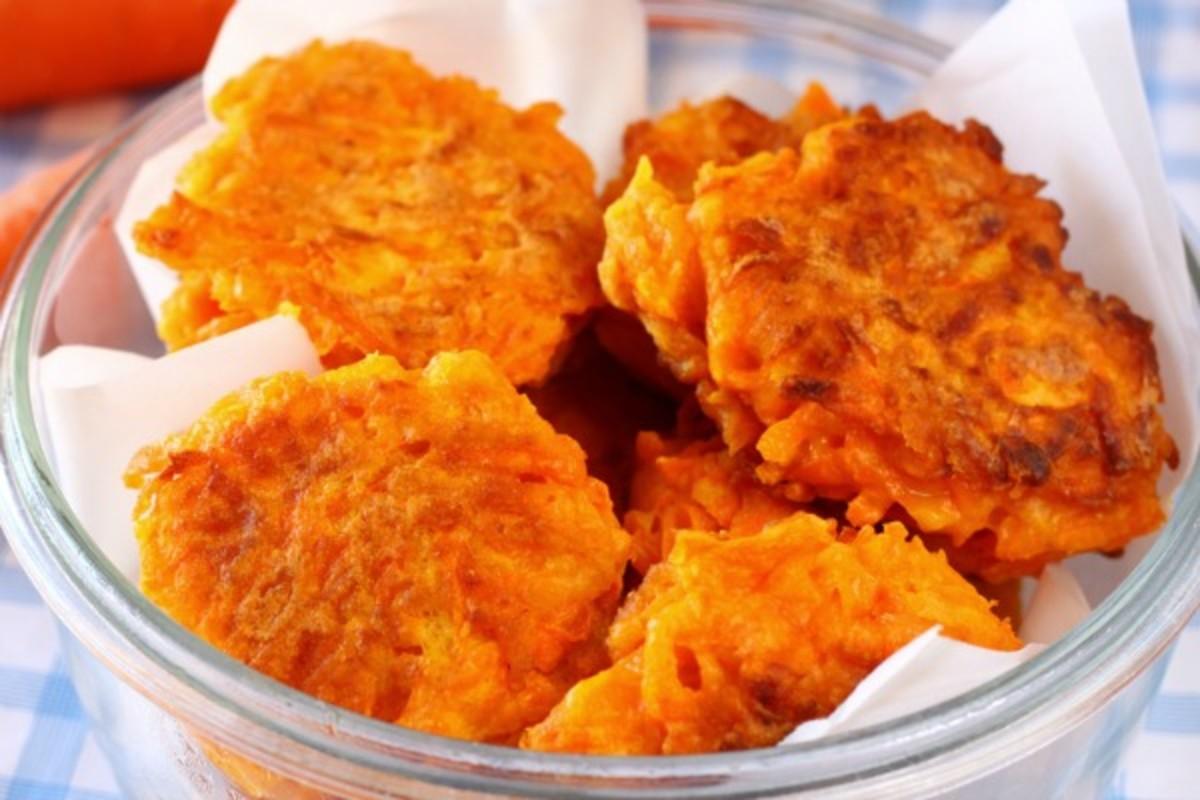curried pumpkin latkes