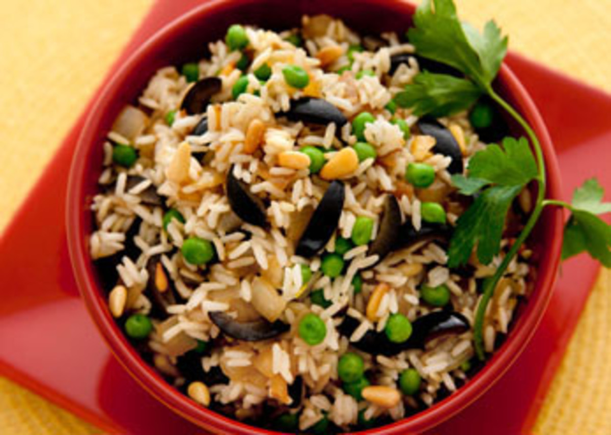 Caramelized Onion Pilaf