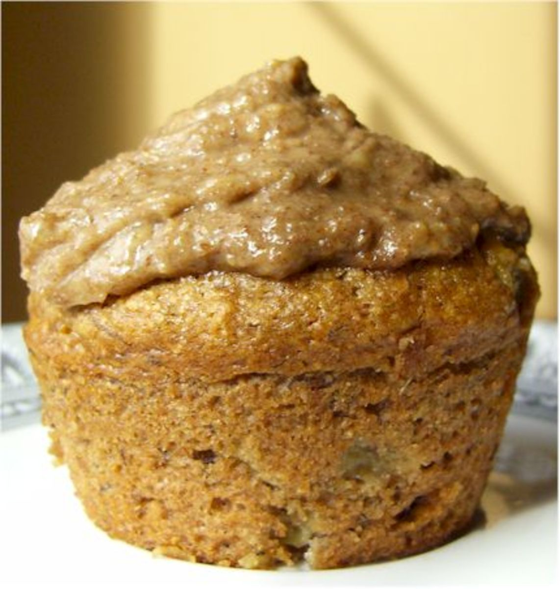 Whole-Wheat Cinnamon Raisin Banana Muffins
