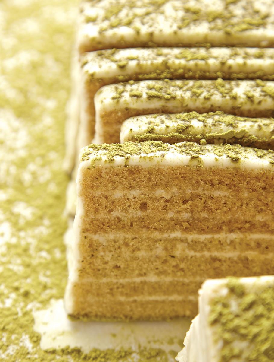 Matcha Seven Layer Cake 82
