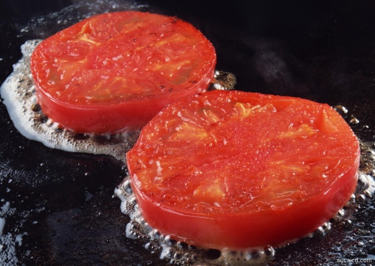 Oven-Roasted Tomato Bruschetta
