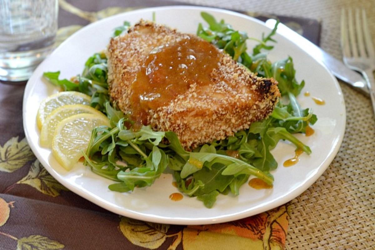 Wasabi Ginger Sea Bass