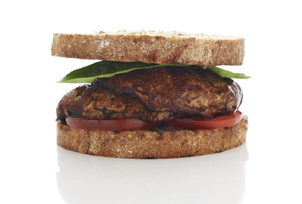 "Balsamic Portobello ""Burger"""